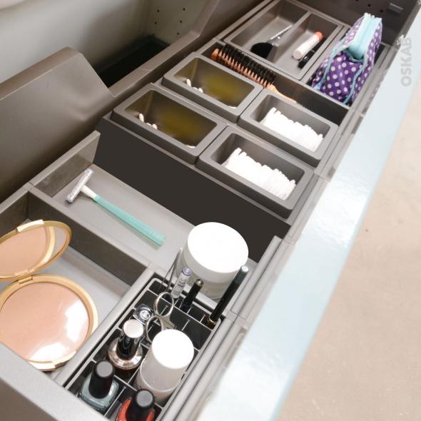 HAKEO - Organisateur de tiroir L100xP40 - Kit n°5