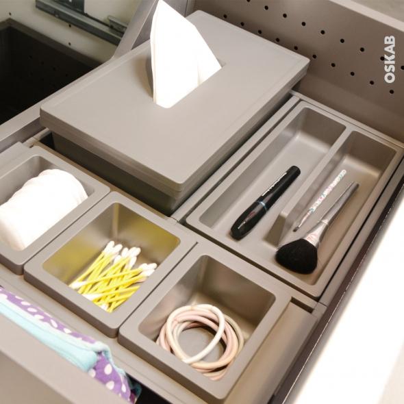 organisateur de tiroir kit de rangement n 10 l60 x p50 cm hakeo oskab. Black Bedroom Furniture Sets. Home Design Ideas