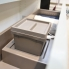 #Kit poubelle tiroir bas - Pour meuble prof 40 cm - HAKEO