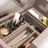 #Rangement 2 boîtes - Avec couvercle - Pour meuble prof 40 cm - HAKEO
