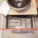 HAKEO - Organisateur de tiroir L60xP40 - Kit n°1