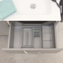 Organisateur de tiroir - Kit de rangement n°6 - L60 x P50 cm - HAKEO