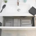 HAKEO - Organisateur de tiroir L80xP40 - Kit n°4