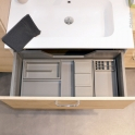 HAKEO - Organisateur de tiroir L80xP50 - Kit n°12