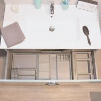 Organisateur de tiroir - Kit de rangement n°15 - L100 x P50 cm - HAKEO