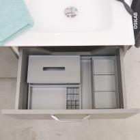 HAKEO - Organisateur de tiroir L60xP50 - Kit n°9