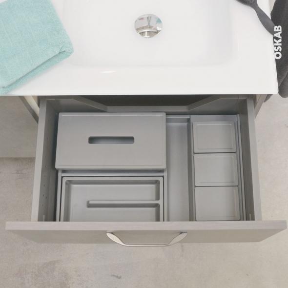 HAKEO - Organisateur de tiroir L60xP50 - Kit n°10