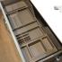 #Organisateur de tiroir - Kit de rangement n°15 - L100 x P50 cm - HAKEO