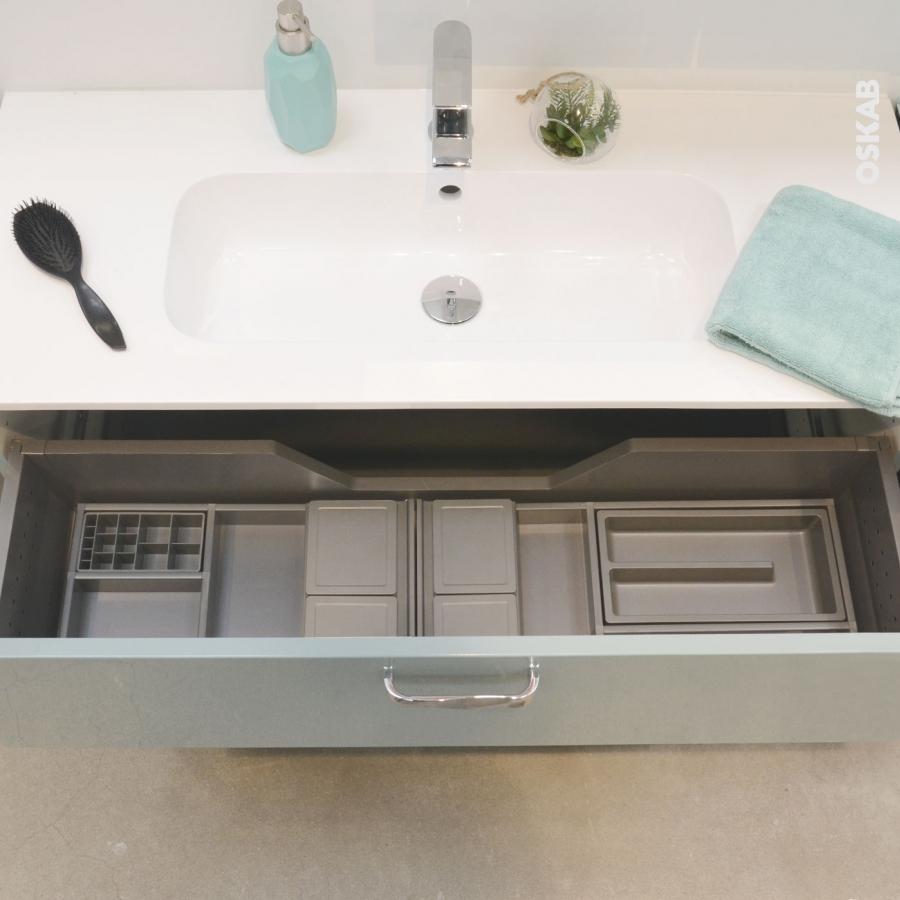 Organisateur de tiroir kit de rangement n 5 l100 x p40 cm for Organisateur tiroir cuisine