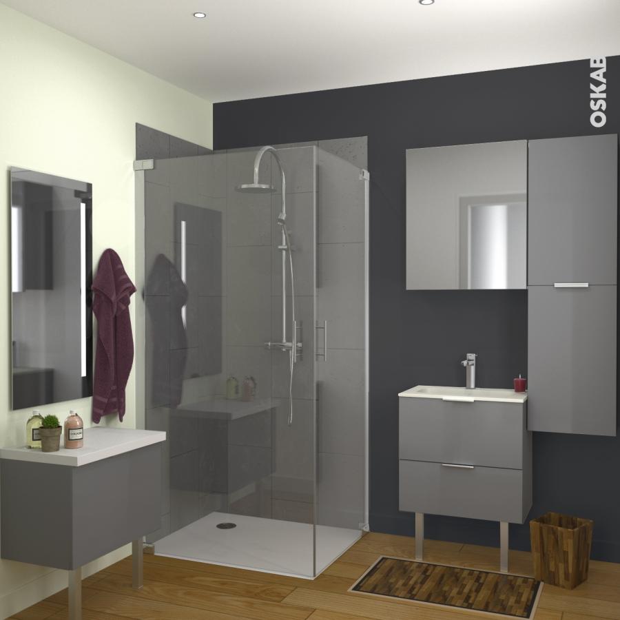 Meuble salle de bains n 731 double vasque rezo 4 portes for Modele de salle de bain pas cher
