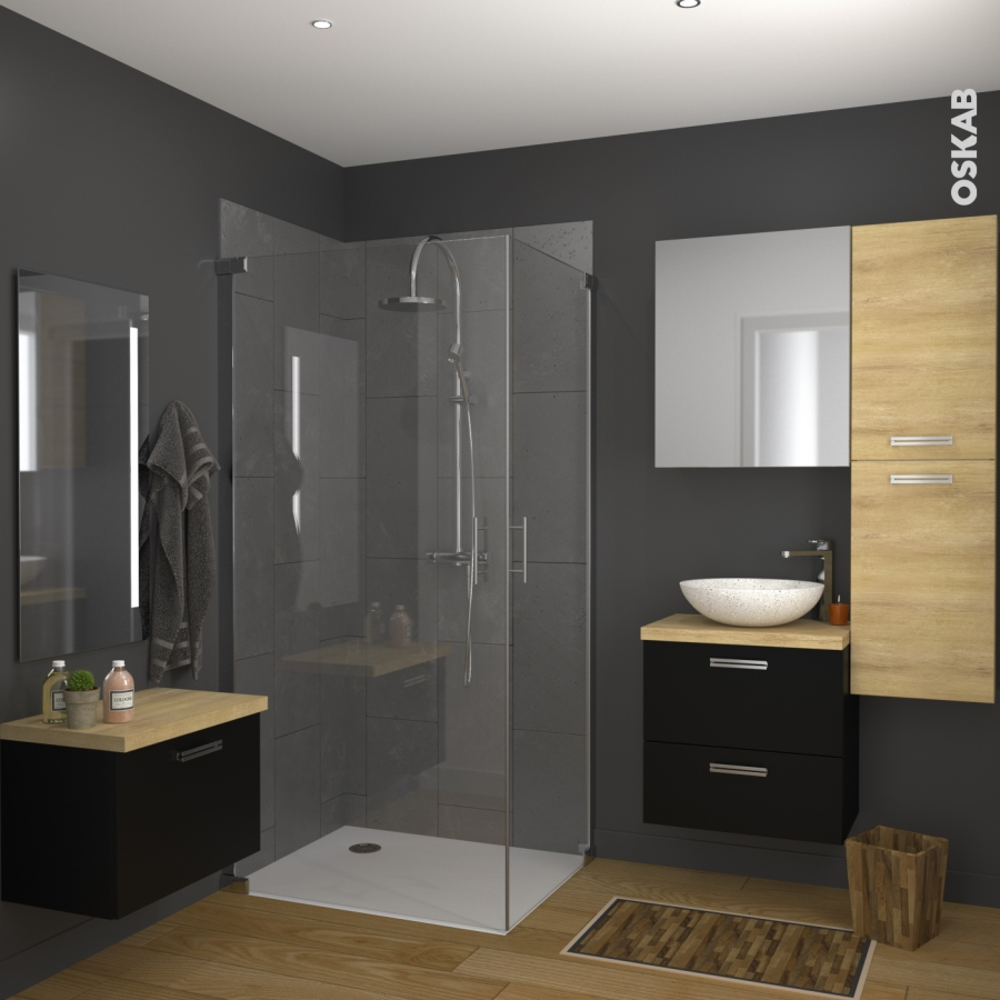 vasque salle de bains ricia a poser terrazzo blanc cass ronde oskab. Black Bedroom Furniture Sets. Home Design Ideas