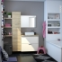 #HOSTA Chêne Naturel - Meuble salle de bains N°661 - Vasque REZO - 2 portes Prof.40 - L100,5xH58,5xP40,5