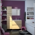 #Meuble de salle de bains - Plan vasque VALA - IPOMA Chêne Naturel - 2 portes - Côtés blancs - L100,5 x H58,2 x P40,5 cm