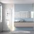 #Meuble de salle de bains - Sous vasque - GINKO Taupe - 2 portes - Côtés décors - L60 x H70 x P50 cm