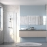 #Meuble de salle de bains - Rangement bas - GINKO Taupe - 1 porte 1 tiroir - L40 x H70 x P37 cm