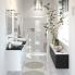 #Eclairage de salle de bains - LED Jade - finition noire - L30 x H1,4 x P16,1 cm