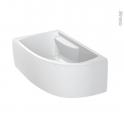Tablier - Baignoire asymétrique - 160x90 cm - Acrylam - DIVA - ALLIBERT