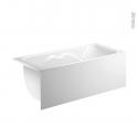Tablier frontal - Pour baignoire rectangulaire - longueur 170 cm - FIX ALU - ALLIBERT