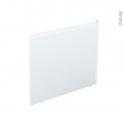 Tablier latéral - Pour baignoire rectangulaire - longueur 80 cm - CLIP'S - ALLIBERT