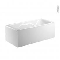Tablier d'angle - Pour baignoire rectangulaire - 170x70 cm - FIX ALU - ALLIBERT