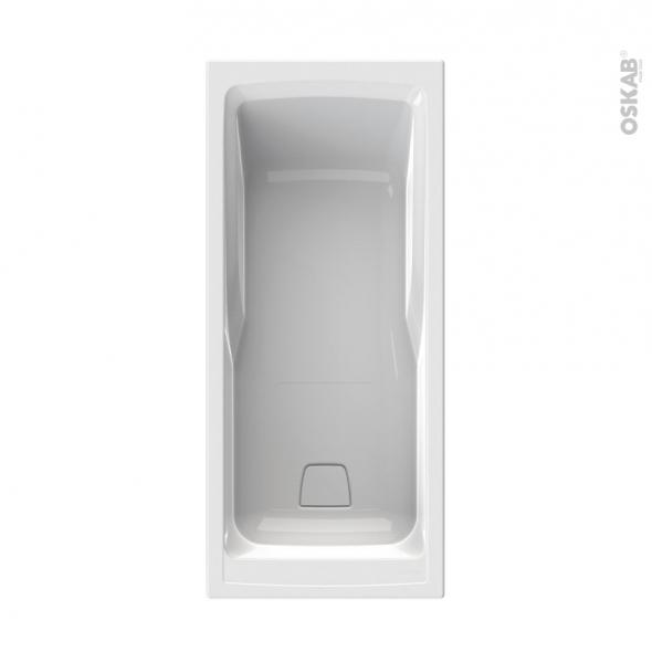 Baignoire - Rectangulaire - 170x75 cm - Toplax - SYLENE - ALLIBERT