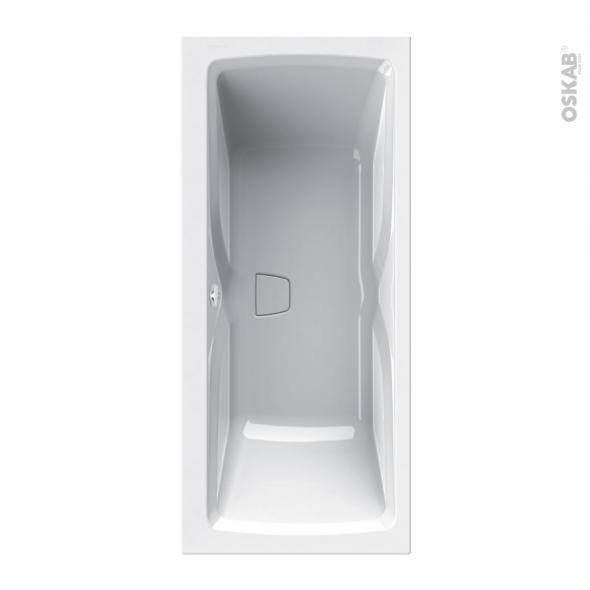 Baignoire - Rectangulaire - 180x80 cm - Toplax - SYLENE DUO - ALLIBERT