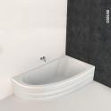 Baignoire - Asymétrique droite - 160x90 cm - Acrylique renforcé - ONA