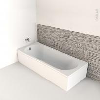 Baignoire - Rectangulaire - 160x70 cm - Acrylique renforcé - ONA