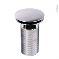 Bonde digiclic - Tige longue - Chromé - H100mm - WIRQUIN