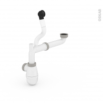 Système de vidage - Avec flexible de trop plein - VALENTIN