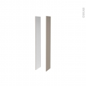 GINKO Taupe - Côtés caisson N°49 - H182XP38XEp1,6