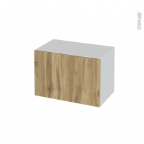 Meuble de salle de bains - Rangement bas - OKA Chêne - 1 porte - L60 x H41 x P37 cm