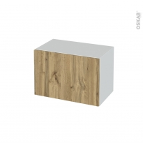 Meuble de salle de bains - Rangement bas - OKA Chêne - 1 tiroir - L60 x H41 x P37 cm