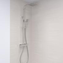 Colonne de douche - INAE - Mitigeur thermostatique - Chromée