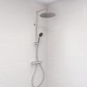 Colonne de douche - AELO - Mitigeur thermostatique - Chromée