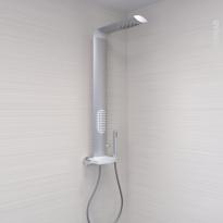 Colonne de douche - ICOS - Mitigeur thermostatique - Aluminium - VALENTIN