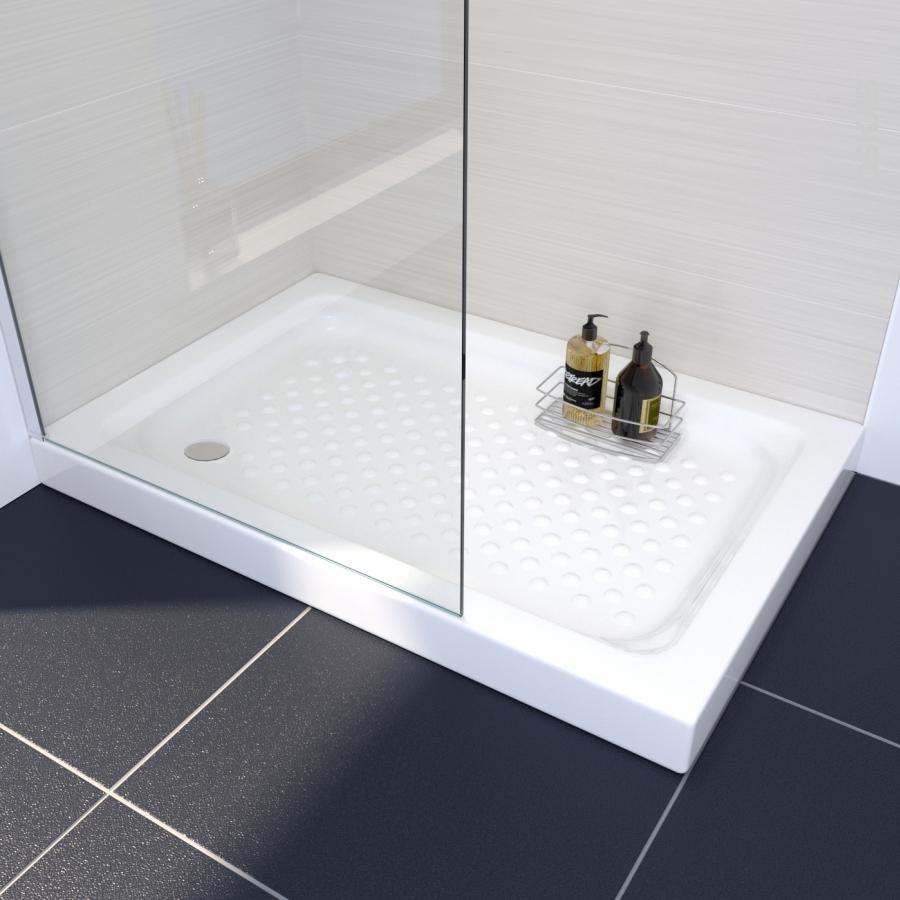 receveur de douche kos gr s maill rectangulaire 120x80. Black Bedroom Furniture Sets. Home Design Ideas