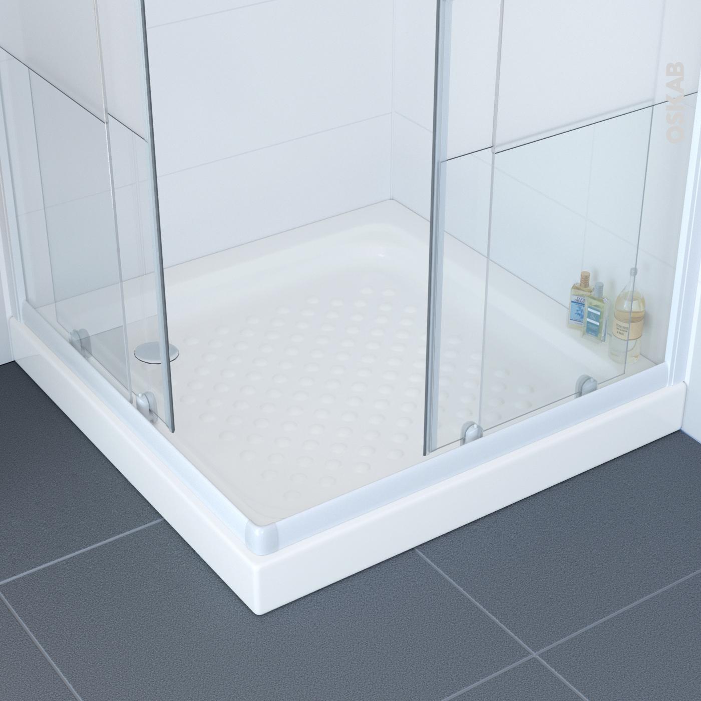 beau receveur de douche 80 80 renaa conception. Black Bedroom Furniture Sets. Home Design Ideas