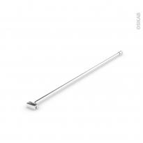 Barre recoupable - paroi simple - 1 m - inox