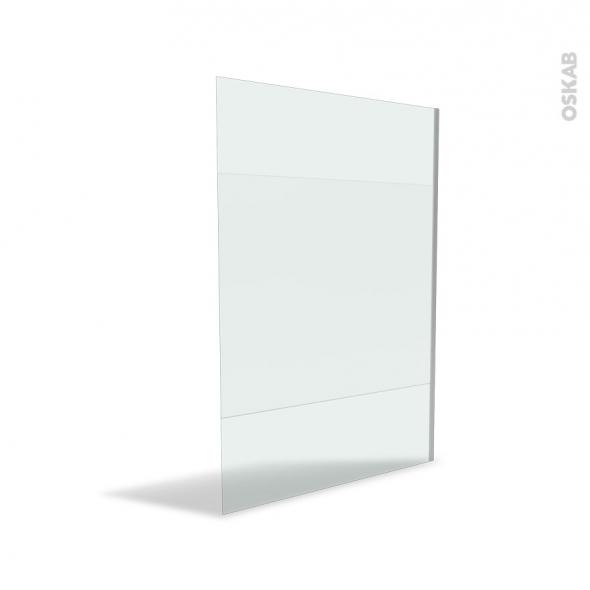 paroi de douche l 39 italienne 140 cm verre d poli 8 mm atlas 2 oskab