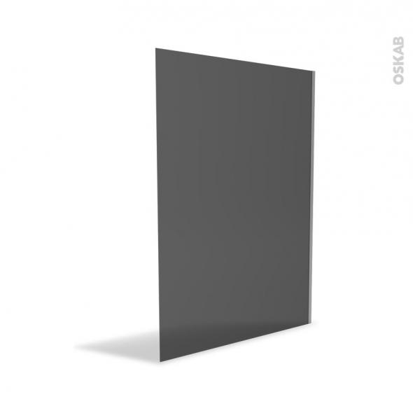 paroi de douche l 39 italienne 140 cm verre fum 8 mm atlas 2 oskab. Black Bedroom Furniture Sets. Home Design Ideas