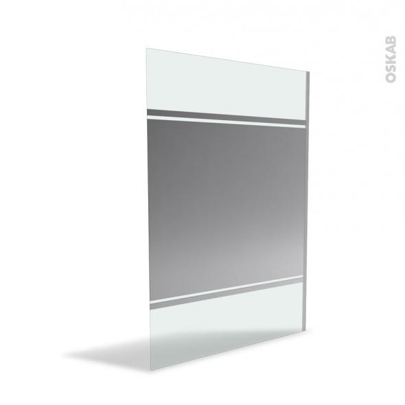 paroi de douche l 39 italienne 140 cm verre miroir 8 mm. Black Bedroom Furniture Sets. Home Design Ideas