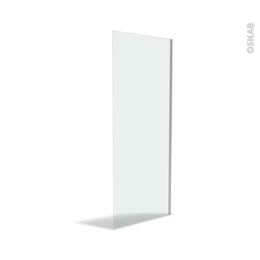 paroi de douche l 39 italienne 80 cm verre transparent 8 mm atlas 2 oskab. Black Bedroom Furniture Sets. Home Design Ideas