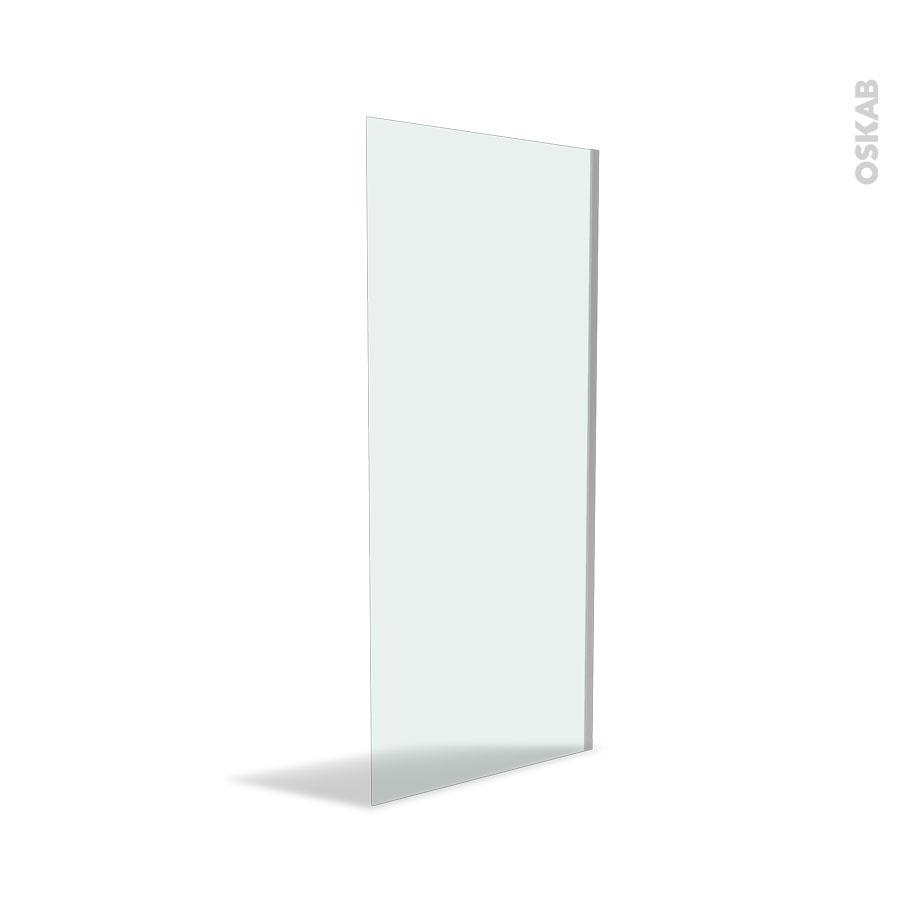paroi de douche l 39 italienne 90 cm verre transparent 8 mm atlas 2 oskab. Black Bedroom Furniture Sets. Home Design Ideas