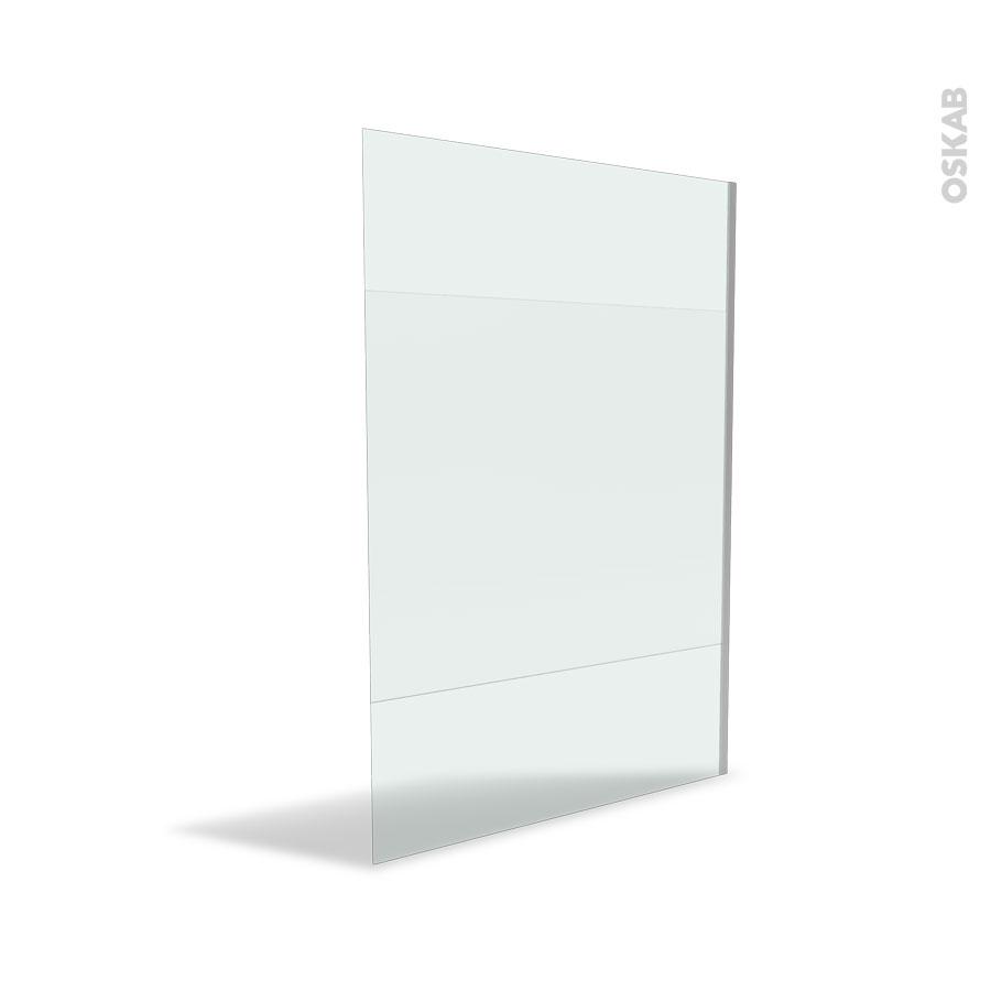 paroi de douche l 39 italienne 140 cm verre d poli 8 mm atlas 2 oskab. Black Bedroom Furniture Sets. Home Design Ideas