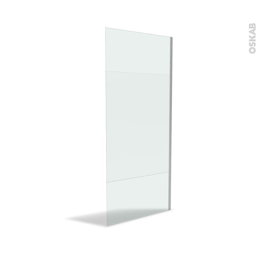 paroi de douche l 39 italienne 90 cm verre d poli 8 mm atlas 2 oskab. Black Bedroom Furniture Sets. Home Design Ideas