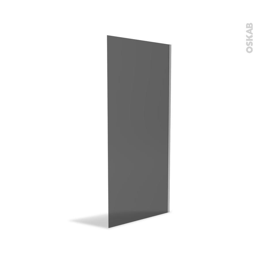 paroi de douche l 39 italienne 90 cm verre fum 8 mm atlas 2 oskab. Black Bedroom Furniture Sets. Home Design Ideas