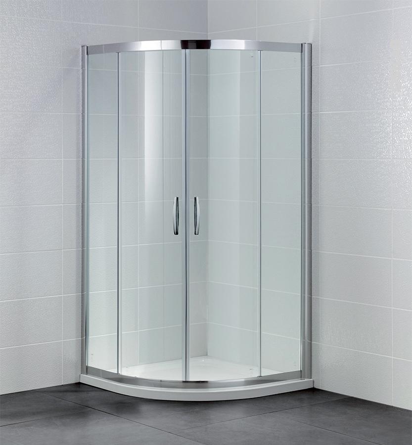 Porte de douche coulissante olympe angle 90x90 cm 1 4 de - Porte de douche 90 ...