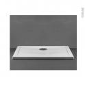 Receveur de douche - Extra-plat PAO - Céramique - Carré 90x90 cm - Blanc