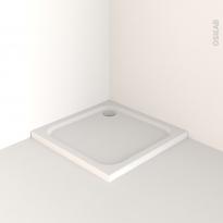 Receveur de douche - MUSA - Acrylique renforcé - Carré 90x90 cm - Blanc